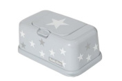 FunkyBox Easy Wipe Dispenser Box Grey Star