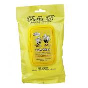 Bella B Baby Wipes, 50 Wipes/Pack