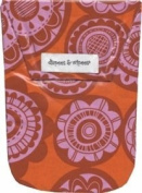 Diapees & Wipees Waterproof Jubilee Red Baby Nappy and Wipes Bag