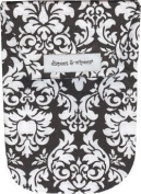 Diapees & Wipees Waterproof Dandy Damask Baby Nappy and Wipes Bag