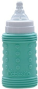 Coddlelife Ultra Cushioning Silicone Bottle Wrap, Blue/Green