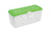 Born Free Quick Load Dishwasher Basket, White/Green