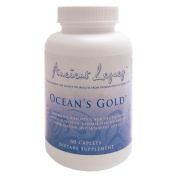 ANCIENT LEGACY OCEAN'S GOLD - 60 CAPLETS - 5 Bottles