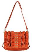 Candice Orange Messenger Bag LA 54826