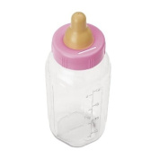27.9cm Baby Bottle Banks - Pink