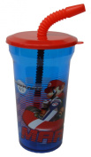Nintendo Super Mario Water Bottle with Straw Party Favour