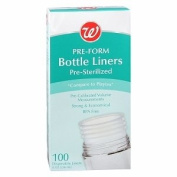Walgreens Pre-Form Disposable Bottle Liners, 100 Each