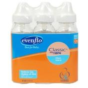 Evenflo Glass 120ml Bottles 3 Pack BPA Free
