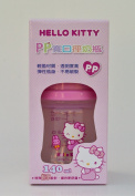 Sanrio Hello Kitty Baby Wideneck Pp Feeding Bottle 4.7 Oz. / 140ml BPA Free