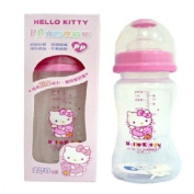 Sanrio Hello Kitty Baby Wideneck Pp Feeding Bottle 9.1 Oz. / 270 ml BPA Free