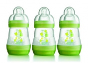 MAM 160ml Anti-Colic Bottles 3 Pack