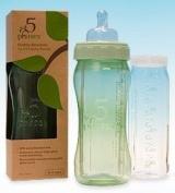 5 Phases Revolutionary Hybrid GLASS Baby Bottles