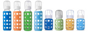 Lifefactory Glass Baby Bottles 8 Pack