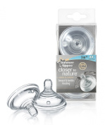 Tommee Tippee Closer to Nature Medium Flow Teats