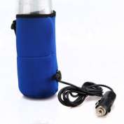 12V Universal Travel Baby Kid Bottle Warmer Heater in Car Blue