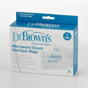 Dr. Brown's Natural Flow 5-pk. Microwave Steam Steriliser Bags baby gift idea