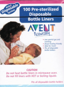 Avent Pre-sterilised Disposable Bottle Liners 100ea
