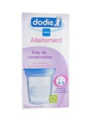 Dodie Breastfeeding Storage Cups x5