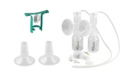 Ameda Purely Yours Replacement Parts Kit with One-hand Manual Breastpump BPA Free - STD (25 mm)/ Insert