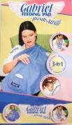Gabriel Feeding Pad Break Away, 3-in-1 Baby Feeding Veil Cover-up