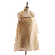 Cover In Style Nursing Cover, Damask Sand