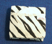 NuAngel Flip and Go Nursing Pad Case - Zebra - Made in U.S.A.
