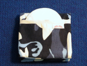 NuAngel Flip and Go Nursing Pad Case - Blue Camo - Made in U.S.A.