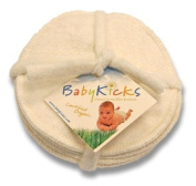 BabyKicks Set of 3 Nursing Pads, Fleece