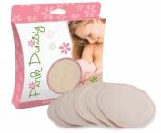 Pink Daisy Bamboo Nursing Pads