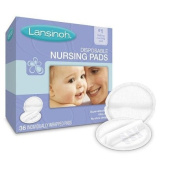 Lansinoh Disposable Breast Pads for Breastfeeding Mothers - 36 Ea/ pack, 2 pack