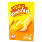 Heinz 4 Month Sunrise Banana Cereal Packet 125g