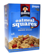 Quaker Oatmeal Squares Crunchy Oatmeal Cereal 1720ml Value Box