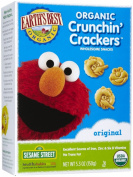 Earth's Best Organic Sesame Street Crunchin' Crackers, 160ml