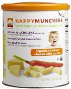 Happy Munchies, Snack, Og, Chdr Chs W/carot, 6/50ml