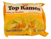 Nissin Top Ramen Chicken Flavour Ramen Noodle Soup 90ml