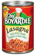 Chef Boyardee Lasagna With Chunky Tomato & Meat Sauce 440ml