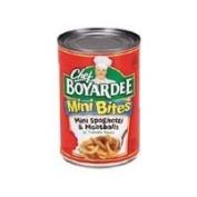 Chef Boyardee Mini Bites Mini Spaghetti & Meatballs 430ml