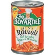 Chef Boyardee Mini Beef Ravioli 440ml
