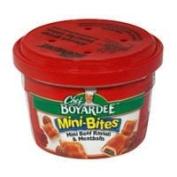Chef Boyardee Microwavable Mini Bites Beef Ravioli & Meatballs 220ml