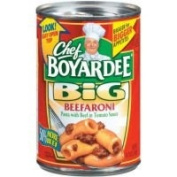 Chef Boyardee Big Beefaroni Macaroni 440ml