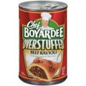 Chef Boyardee Overstuffed Beef Ravioli 440ml