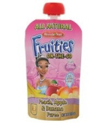 Beech-nut Fruities On-the-go Peach, Apple, Banana 8/120ml Pouches
