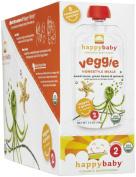 Organic Baby Food, Veggie Homestyle Meals, Sweet Peas, Green Beans & S