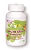 VegLife - Vegan Kids Multiple Berry - 60 Chewable Tablets