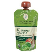 Bangalla 01327 Peter Rabbit Organics Pea, Spinach& Apple Snack- 10-4.4 OZ