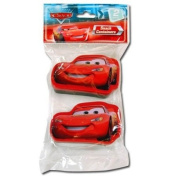 2pk Disney Cars Snack N Store Food Storage Containers