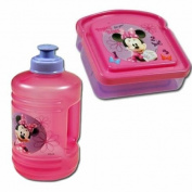 "Disney Minnie Mouse ""Pretty Bows"" Girls Lunch Set"