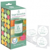 Baby Food Storage Containers - Sage Spoonfuls Mini 120ml Storage Jars (3pk) - BPA Free