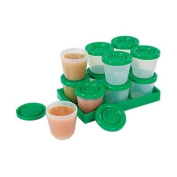 Fresh N Freeze 60ml Reusable Baby Food Containers 12-Pack
