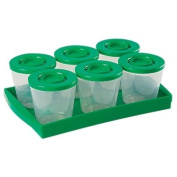 Fresh N Freeze 120ml Reusable Baby Food Containers 6-Pack